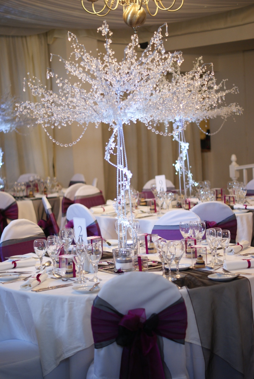 trees wedding decor large trees charles event management 8066