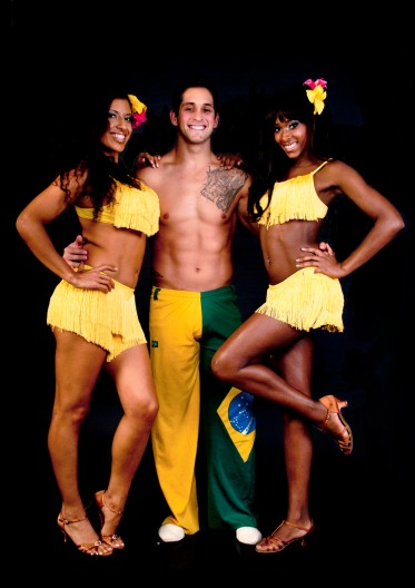 book brazilian marital arts and capoeira dancers