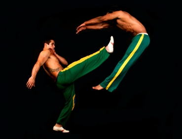 brazilian martial arts dancers fro hire. perfect for mardi gras themed events.