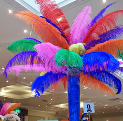 Mardi Gras and rio themed props and venue decor for hire. perfect for Rio and carnival events this summer for the 2016 rio Olympics