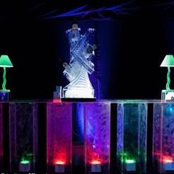 swirledledbar perfect for Mardi gras themed eventd decor