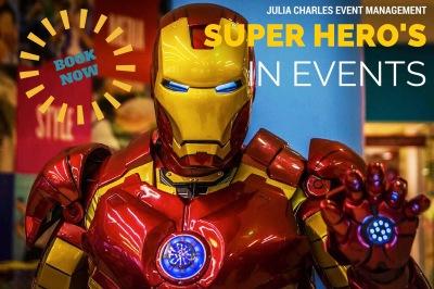 SUPER HEROS FLYER