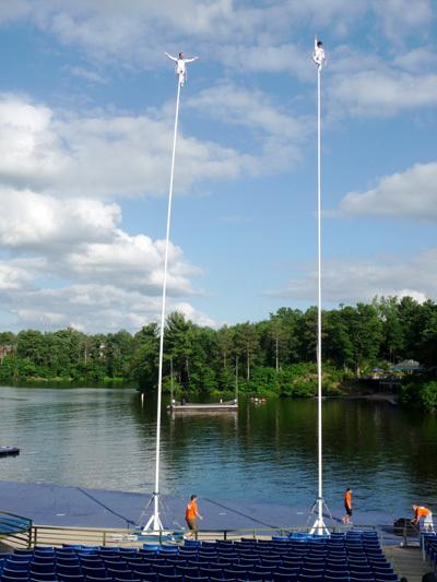 Sway poles