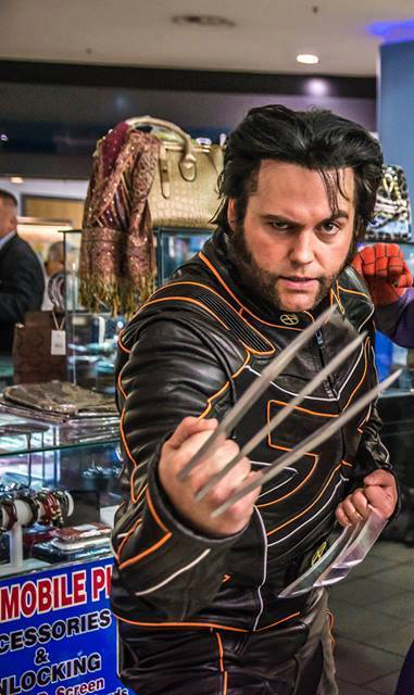 Wolverine Character Hire UK London
